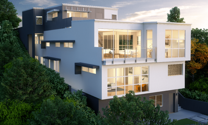 5 ways to get the most out of building on a sloping block
