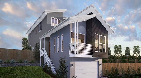 Sloping Block Homes